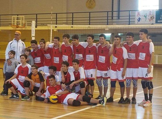 Voleibol-Desporto-Escolar